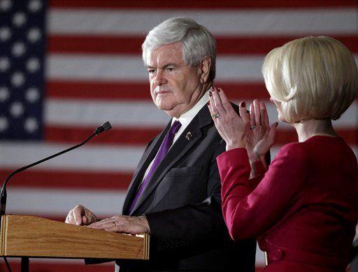 62 #prezpix #prezpixng election 2012 candidate: Newt Gingrich publication: abc news photographer: AP Photo publication date: 3/13/12