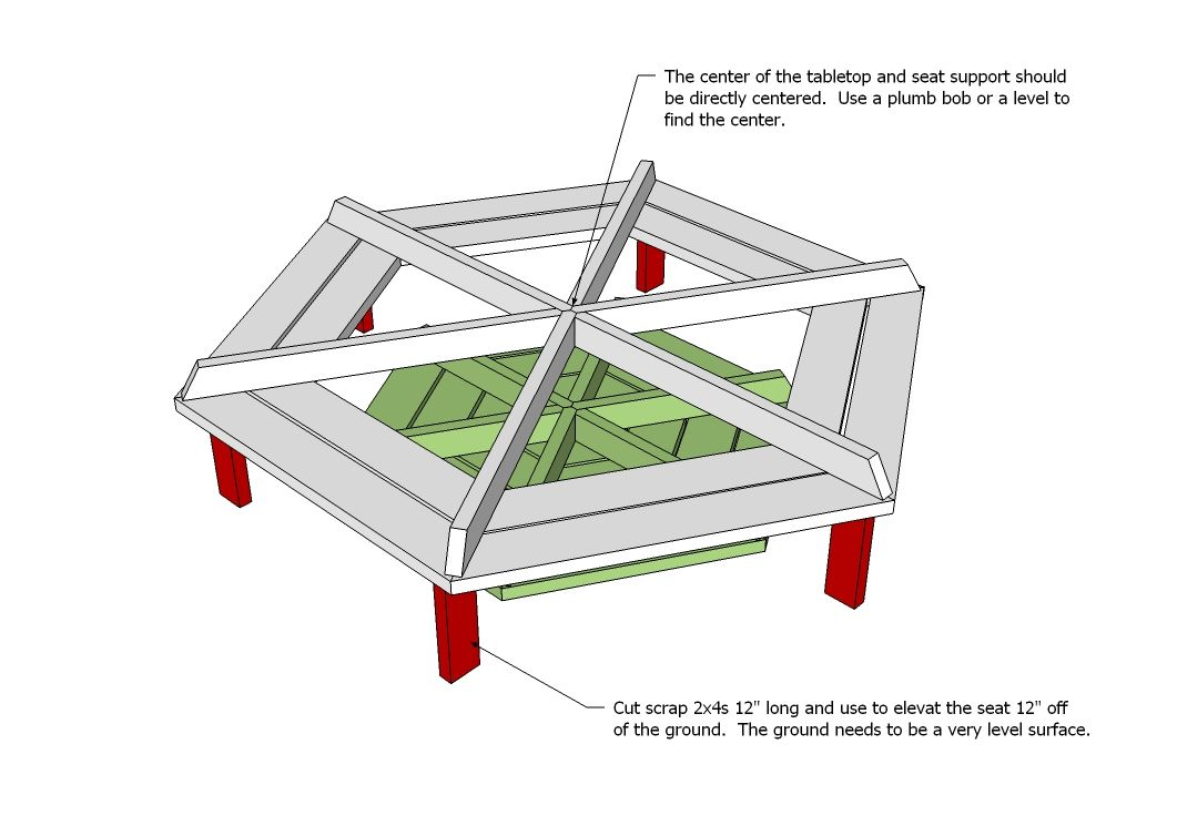Ana white build a hexagon picnic table free and ea ana white build a hexagon picnic table free and easy diy project and furniture watchthetrailerfo