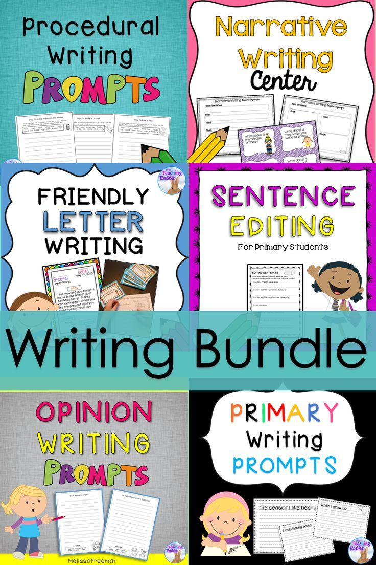 Writing Bundle | Pinterest | Friendly letter, Opinion writing and ...