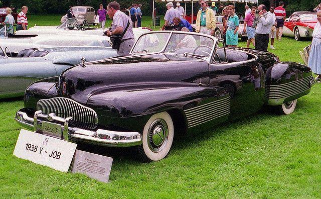 1938 buick y job show car by carphoto via flickr vintage machines rh pinterest com