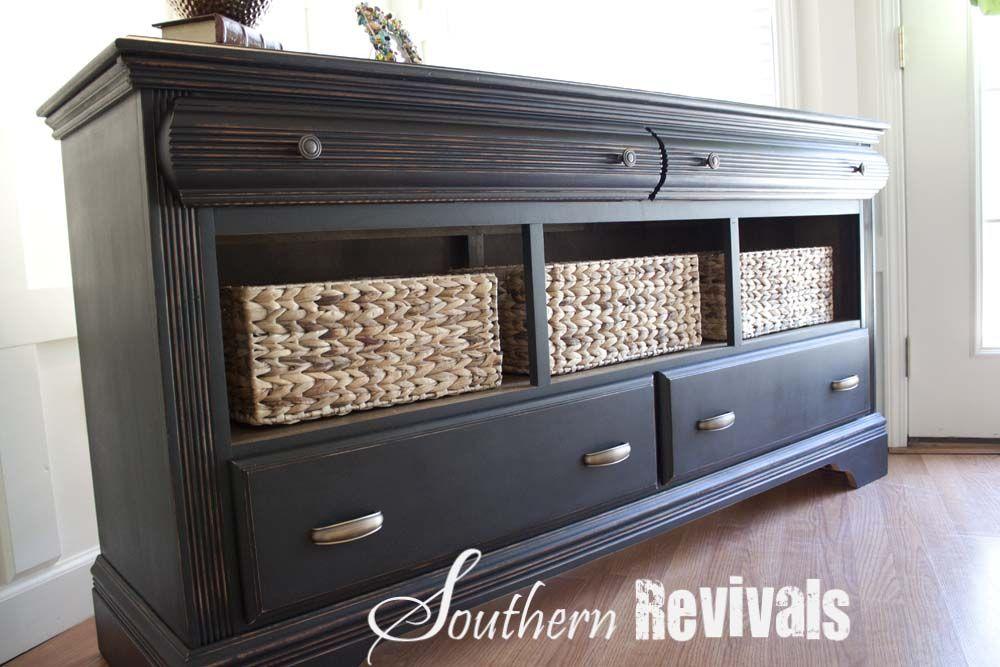 Rustic Baby Dresser
