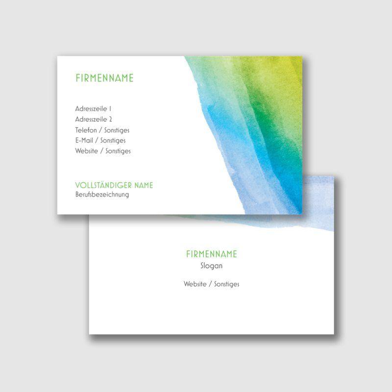 Strukturpapier Visitenkarten Vorlagen Designs Page 14