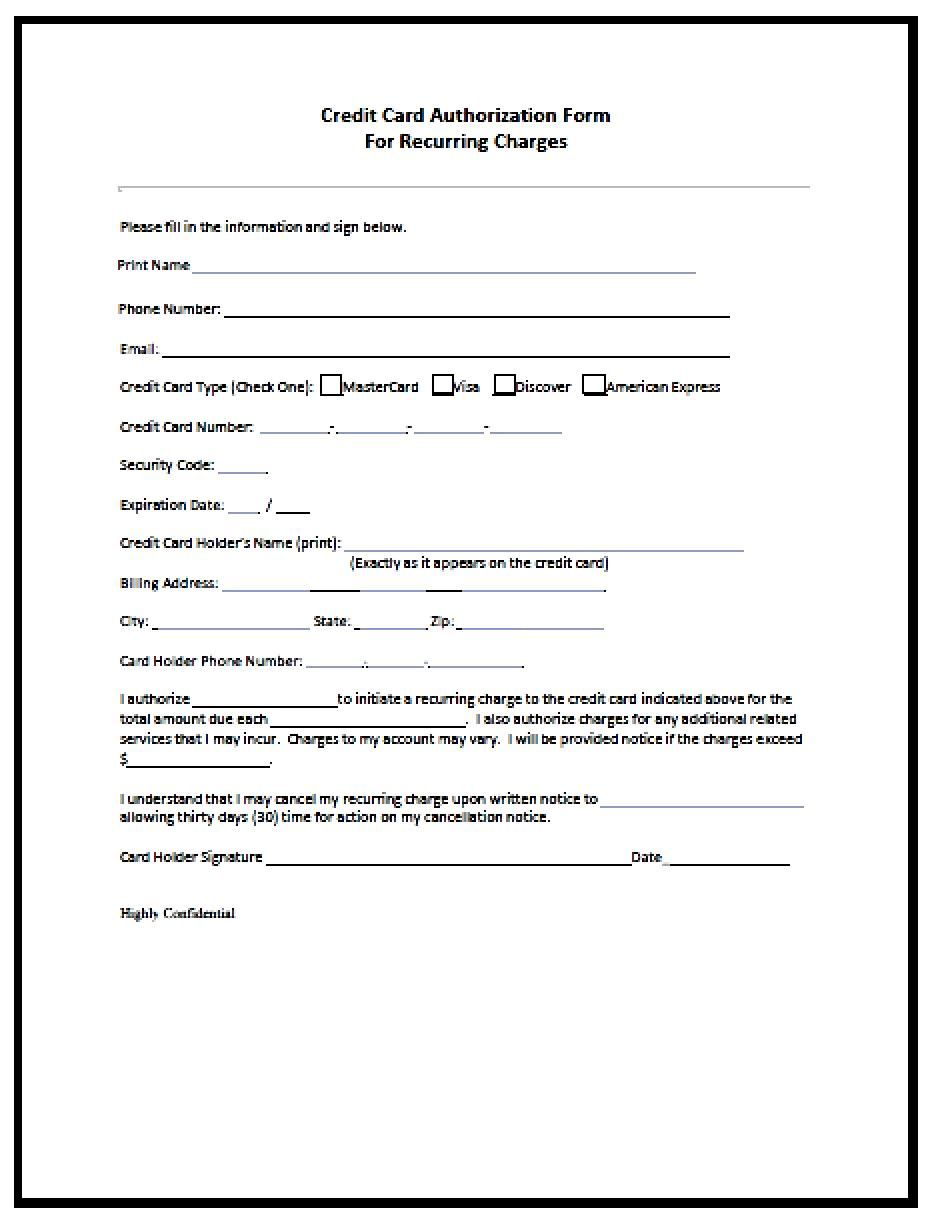 Authority Form Template Letter Of Intent Example  Template  Pinterest  Template