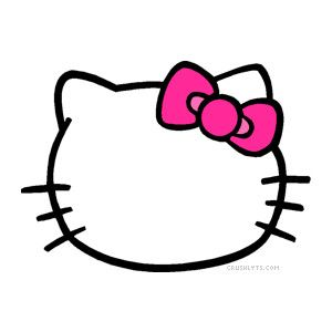 fb486b351 Image result for hello kitty bow clipart   HELLO KITTY