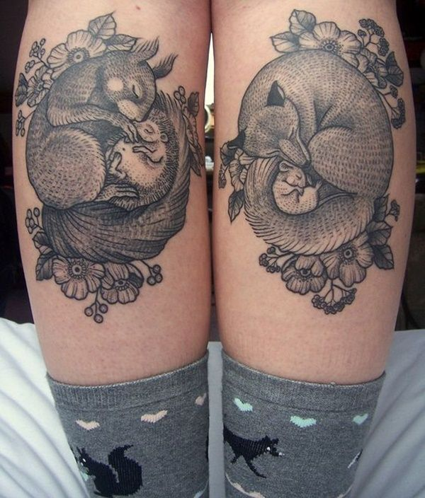 99 Leg Tattoo Designs To Help You Get A Leg Up On Your