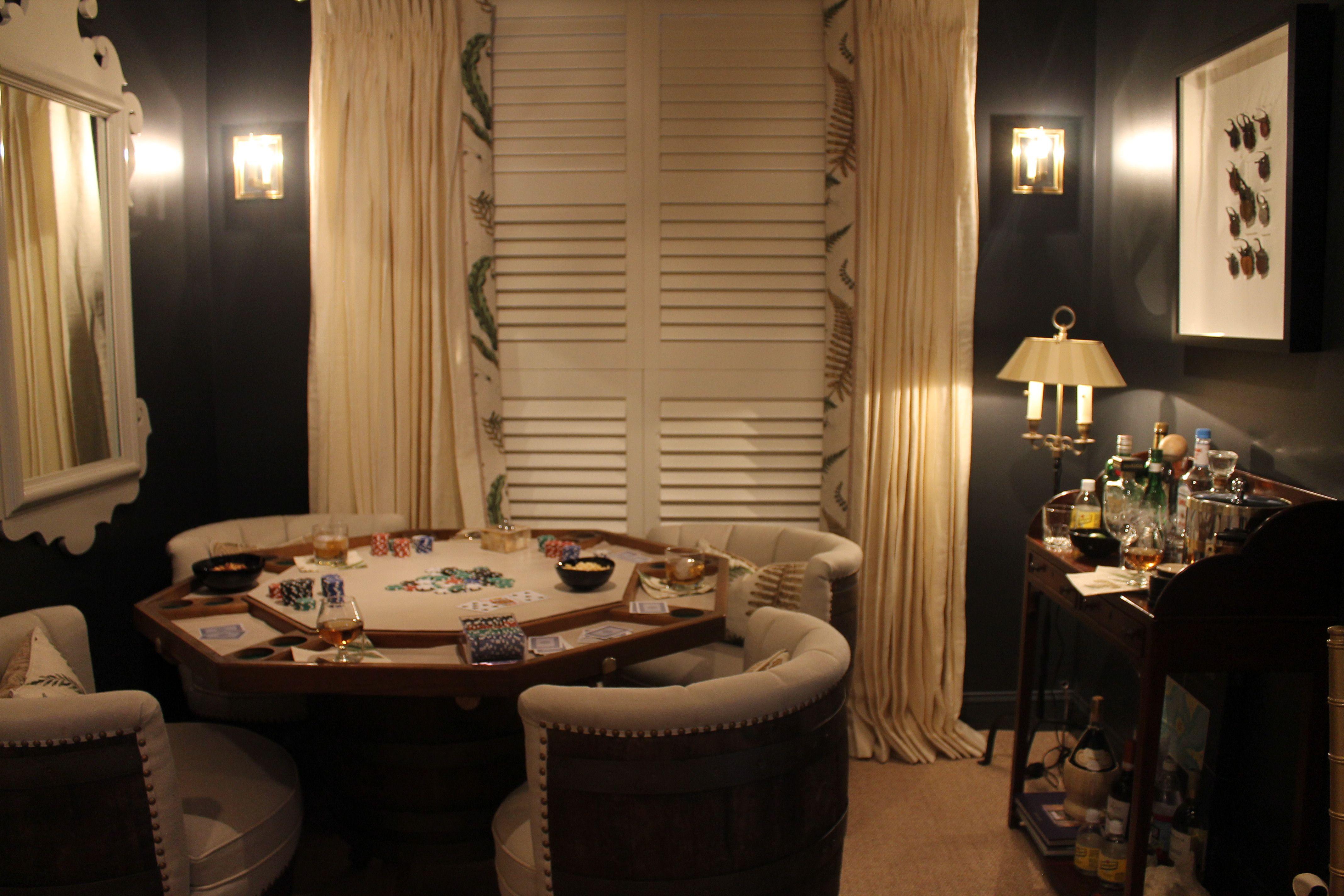 Cozy Poker Room