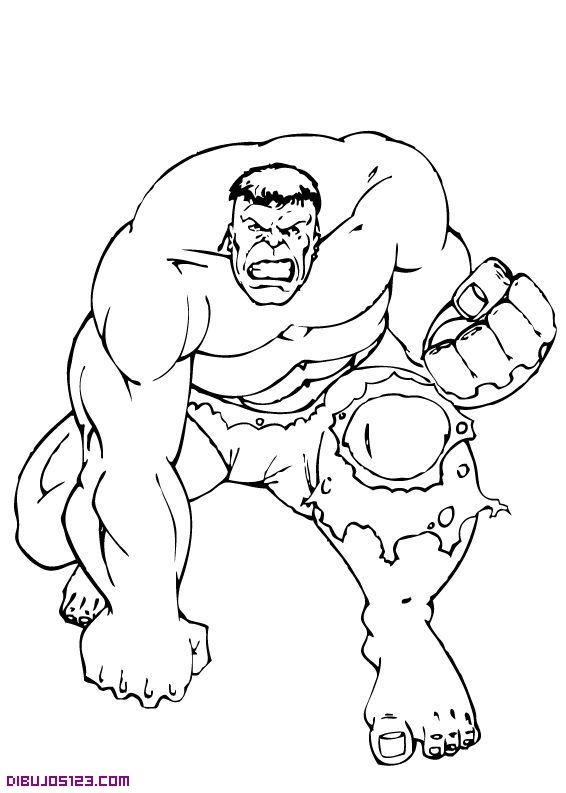 Laminas Dibujos Para Colorear Superheroes Imagui Con Imagenes