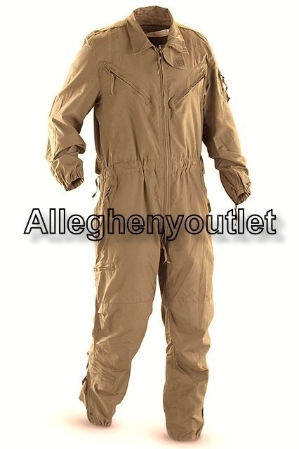 Us Military Cvc Coveralls Tankers Combat Vehicle Flightsuit Nomex Tan Nice Ebay Coveralls Attractive Clothing Functional Fashion