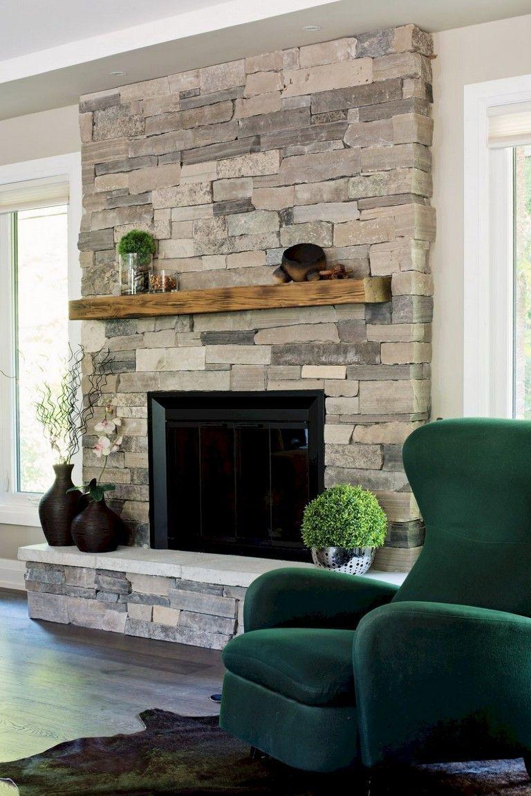 33 Remarkable Fireplace Decoration Idea Brick Fireplace