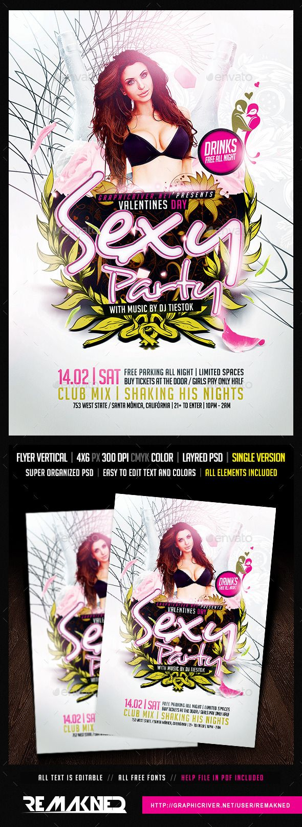 Day Sexy Party | Flyer Template PSD
