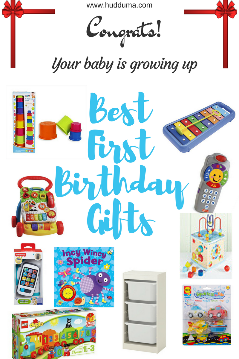 Here Are My Top Ten First Birthday Gift Ideas That Parents Will Love To Receive