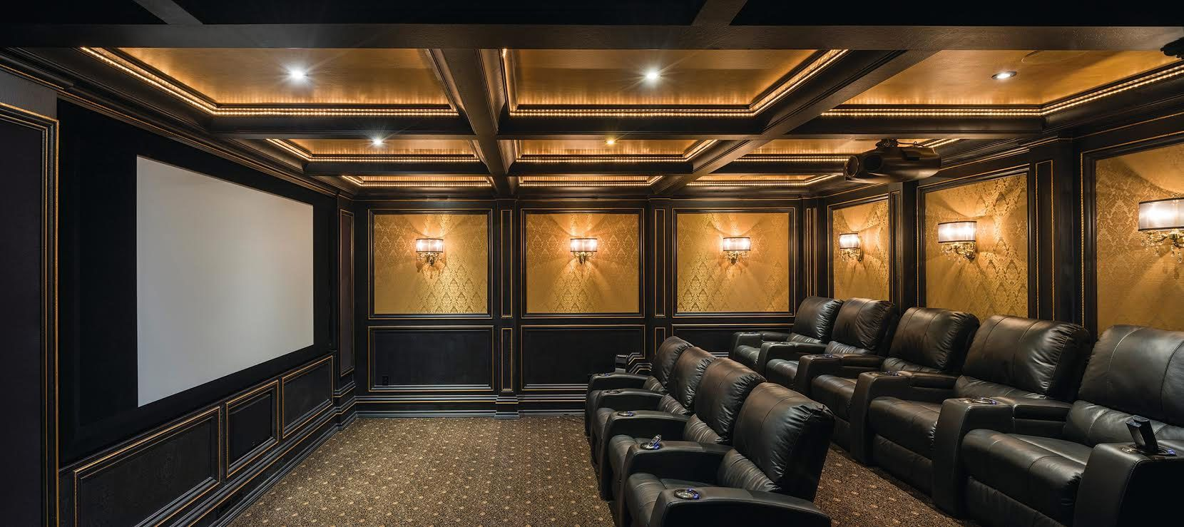 Amazing home theater from Hanson Audio Video