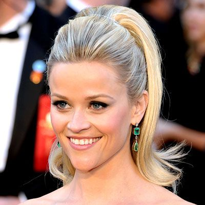 Last month reese witherspoon hair ponytail and reese witherspoon last month updo hairstylehigh pmusecretfo Gallery