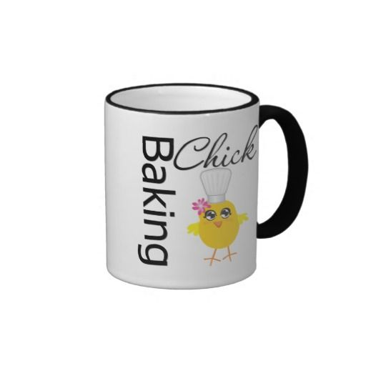 Baking Chick Mug by www.allaboutchick.com