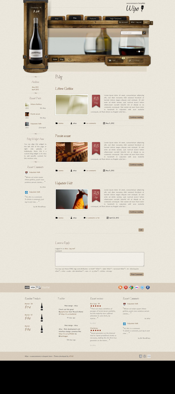 blog page Web design, Web app, Blog