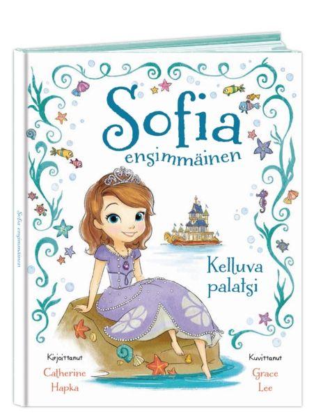 Sofia Ensimmäinen: Kelluva palatsi -kirjassa prinsessa Sofia lomailee perheensä kanssa heidän suurella ja ylellisellä laivallaan. Eräänä päivänä hän tapaa ihka oikean merenneidon. Tytöt sukeltavat yhdessä veden valtakuntaan, mutta miten käy, kun hurja merihirviö kaappaa Sofian uuden ystävän?
