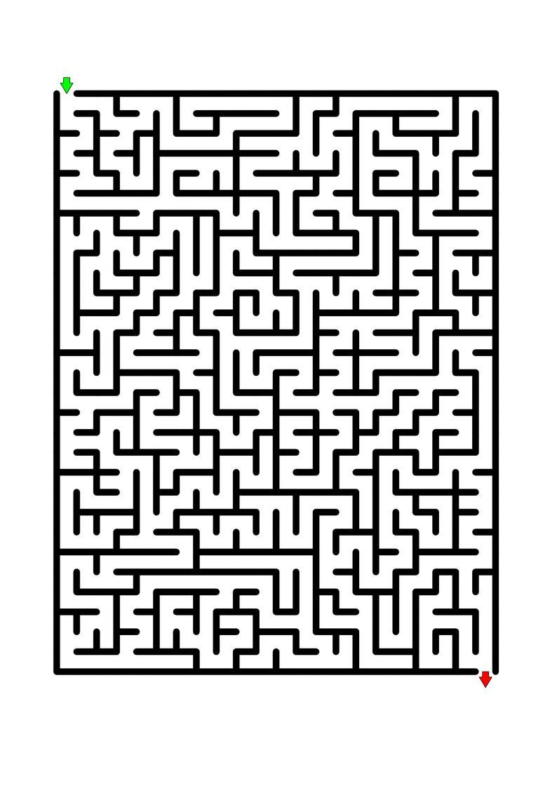 100 Medium Difficulty Mazes For Kids Up To 7 Years Old Etsy Mazes For Kids Printable Mazes Mazes For Kids Printable Maze worksheets for year olds