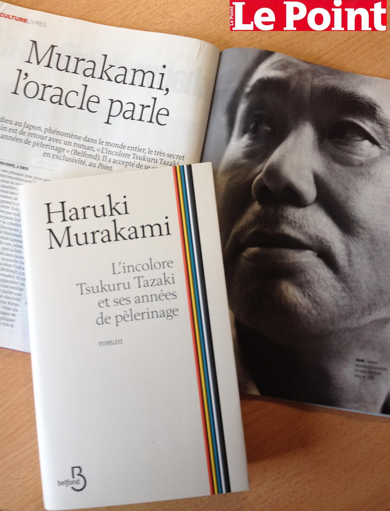 Haruki Murakami Interview Exclusive Le Point