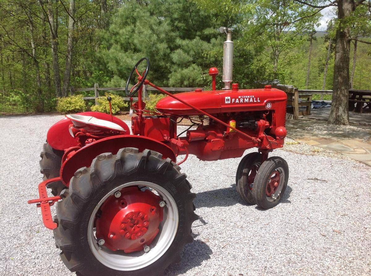 1947 International Farmall B Yes, with narrow front  Learned