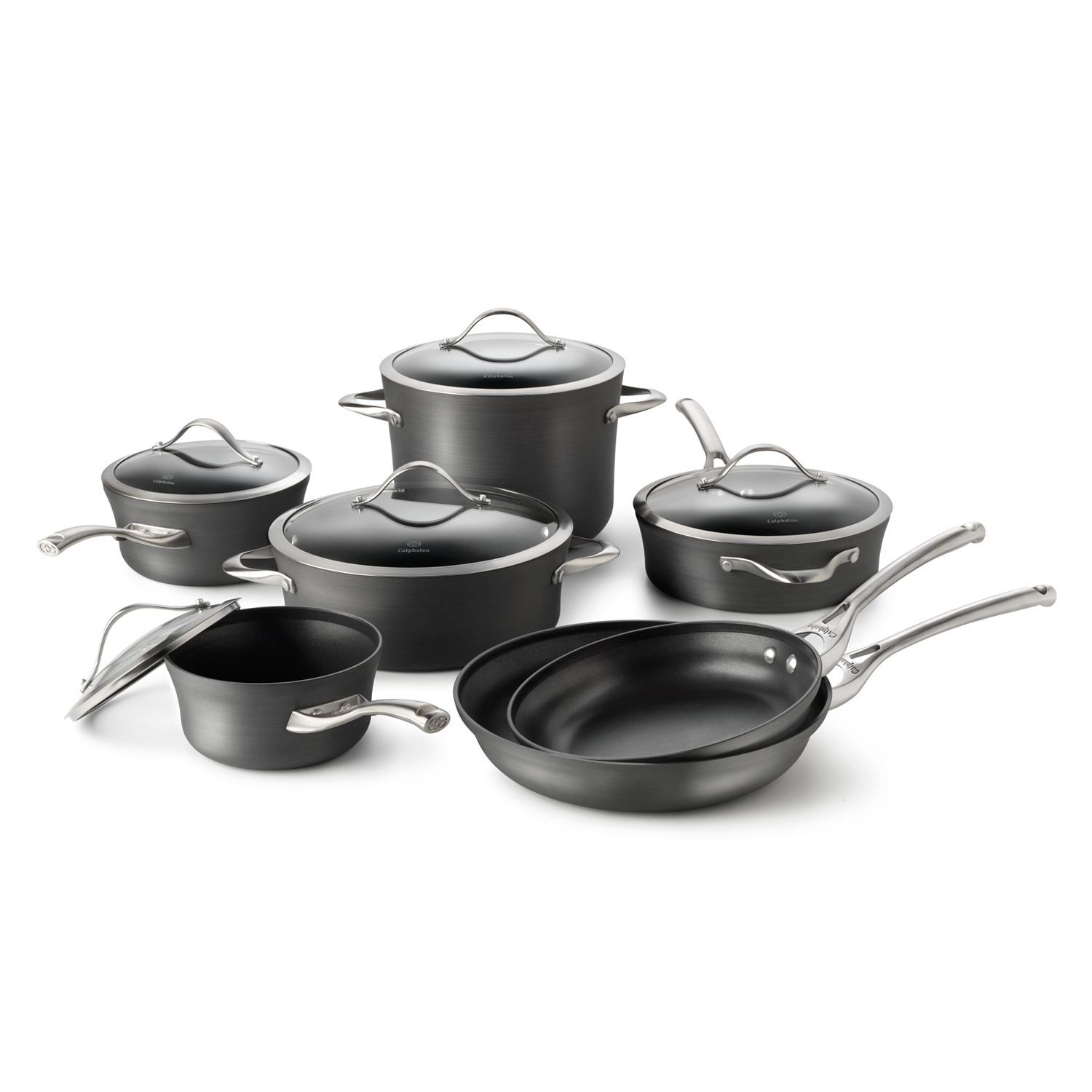 Create Gourmet Meals With This Calphalon Cookware Set Kohls Weddingregistry Hard Anodized Cookware Calphalon Cookware Dishwasher Safe Cookware