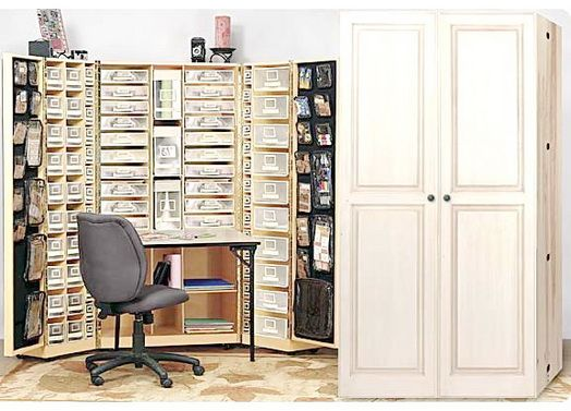 Armoire This Is Amazing Craft Armoire Organization Furniture Craft Room Storage