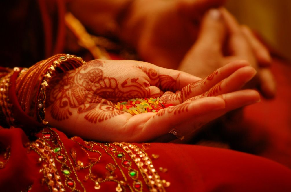 indian wedding hindu invitations%0A This wedding henna is a tradition among Indian brides and often is seen in  this beautiful reddish brown color