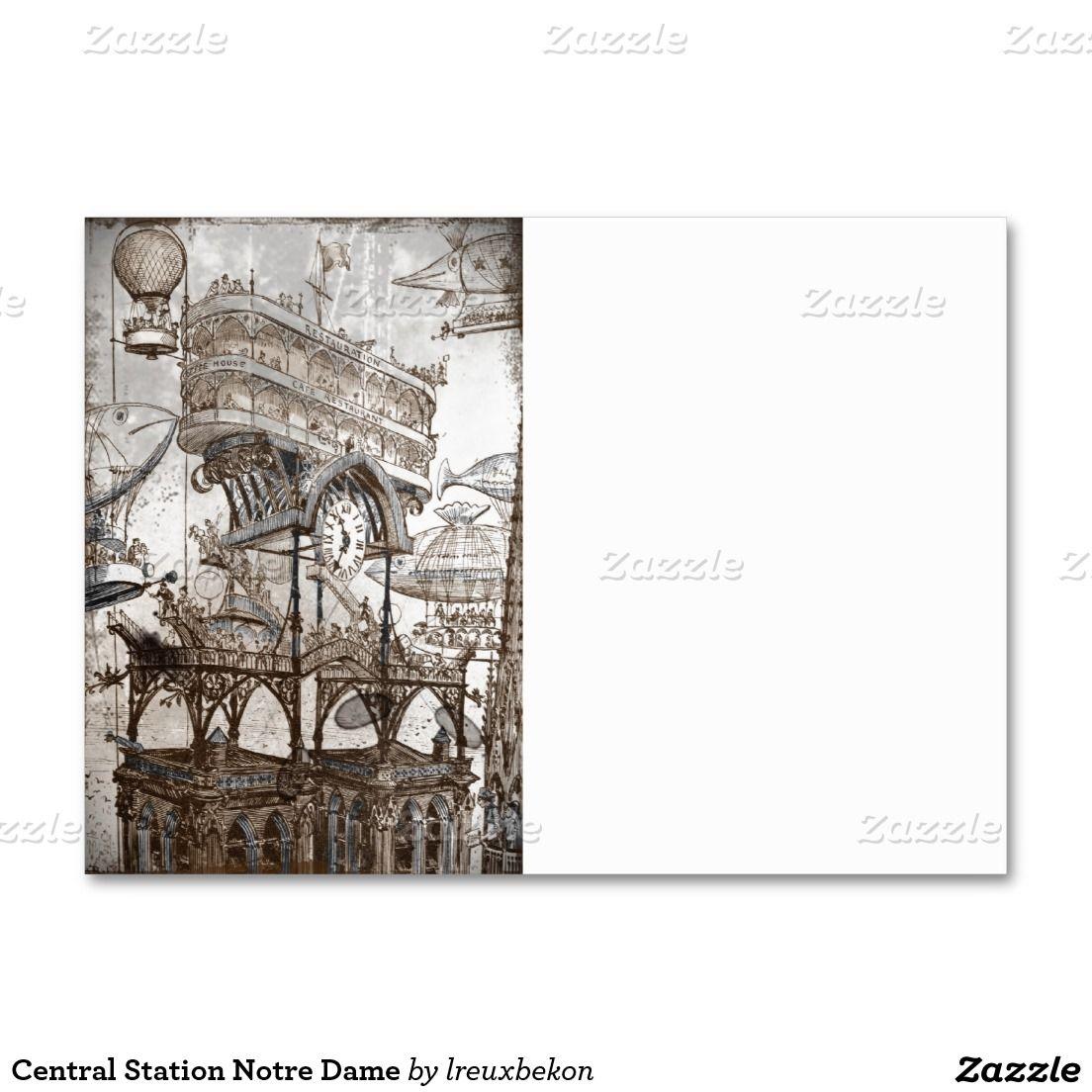 Central Station Notre Dame Large Business Cards (Pack Of 100 ...
