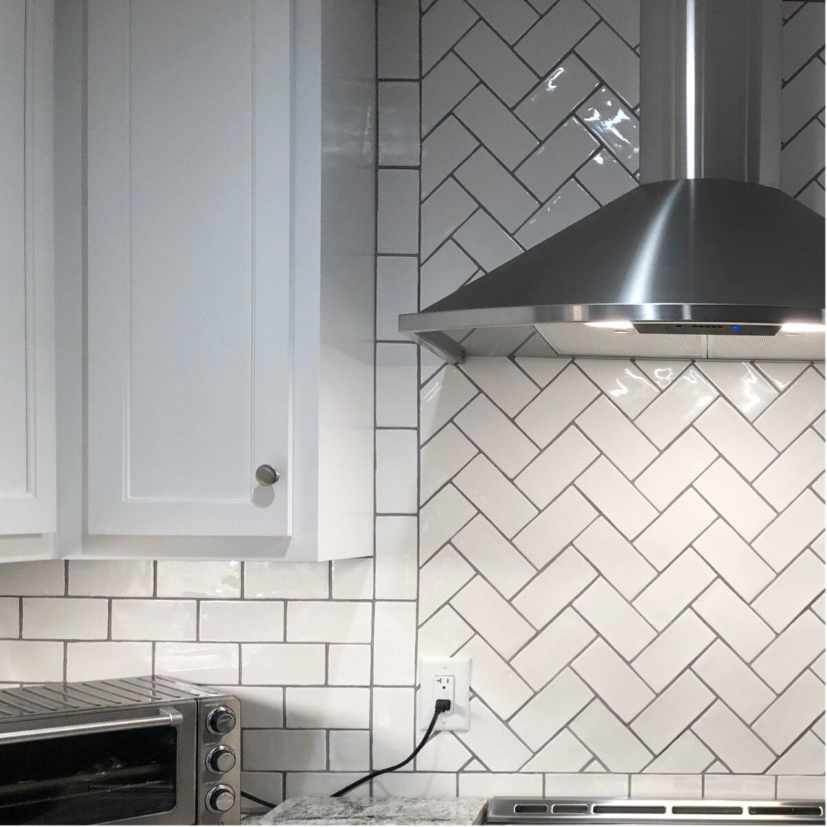 Artigiano Daltile 3 X 6 Ceramic Subway Tile In 2020 White Subway Tiles Kitchen Backsplash Kitchen Backsplash Trends Subway Tile Backsplash Kitchen