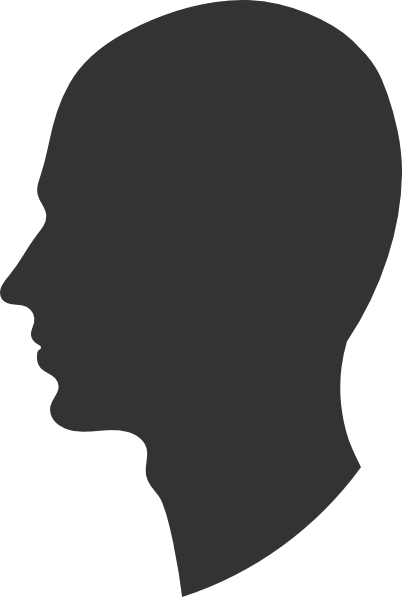 Style Guide Clker Silhouette Head Face Profile Silhouette Face