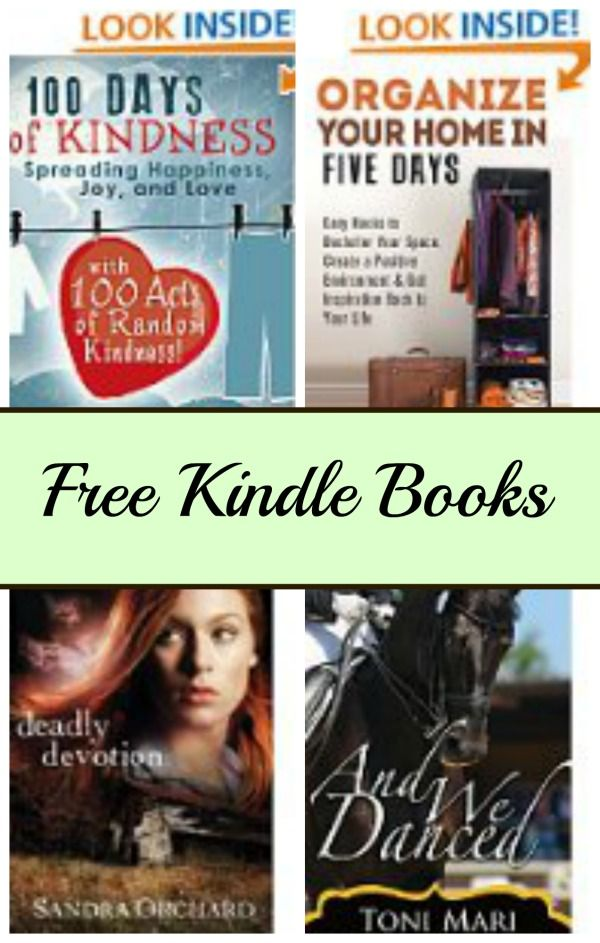 Free Kindle Book List 100 Days Of Kindness Deadly Devotion