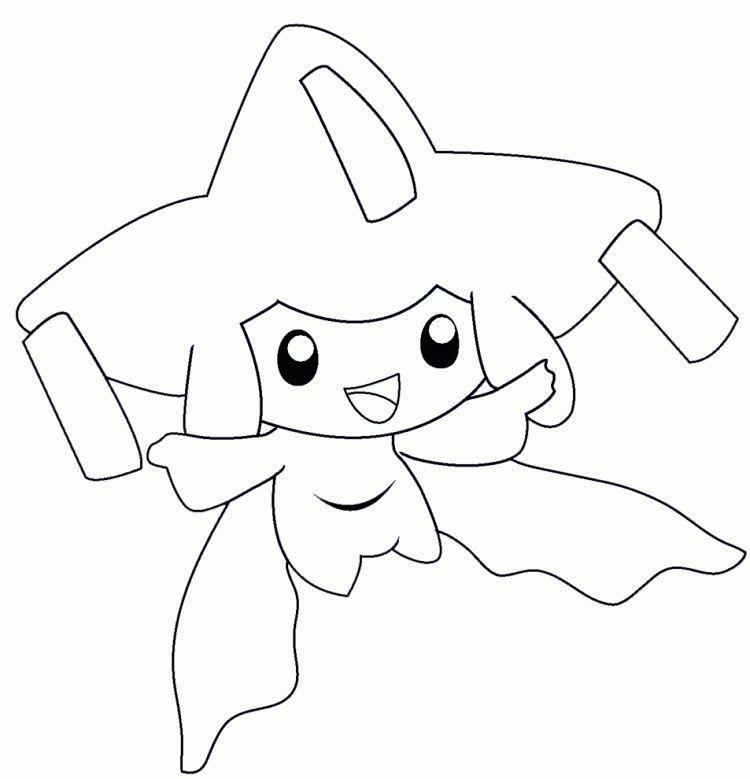 Pokemon Coloring Pages Jirachi Pokemon Coloring Pages Pokemon Coloring Pirate Coloring Pages