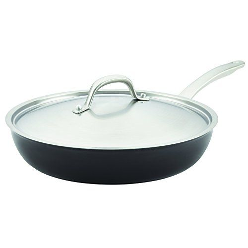 Circulon 10986 12 Ultimum Forged Aluminum Nonstick Covered Deep Skilletfry Pan Large Black More Details Skillet Circulon Safe Cleaning Products