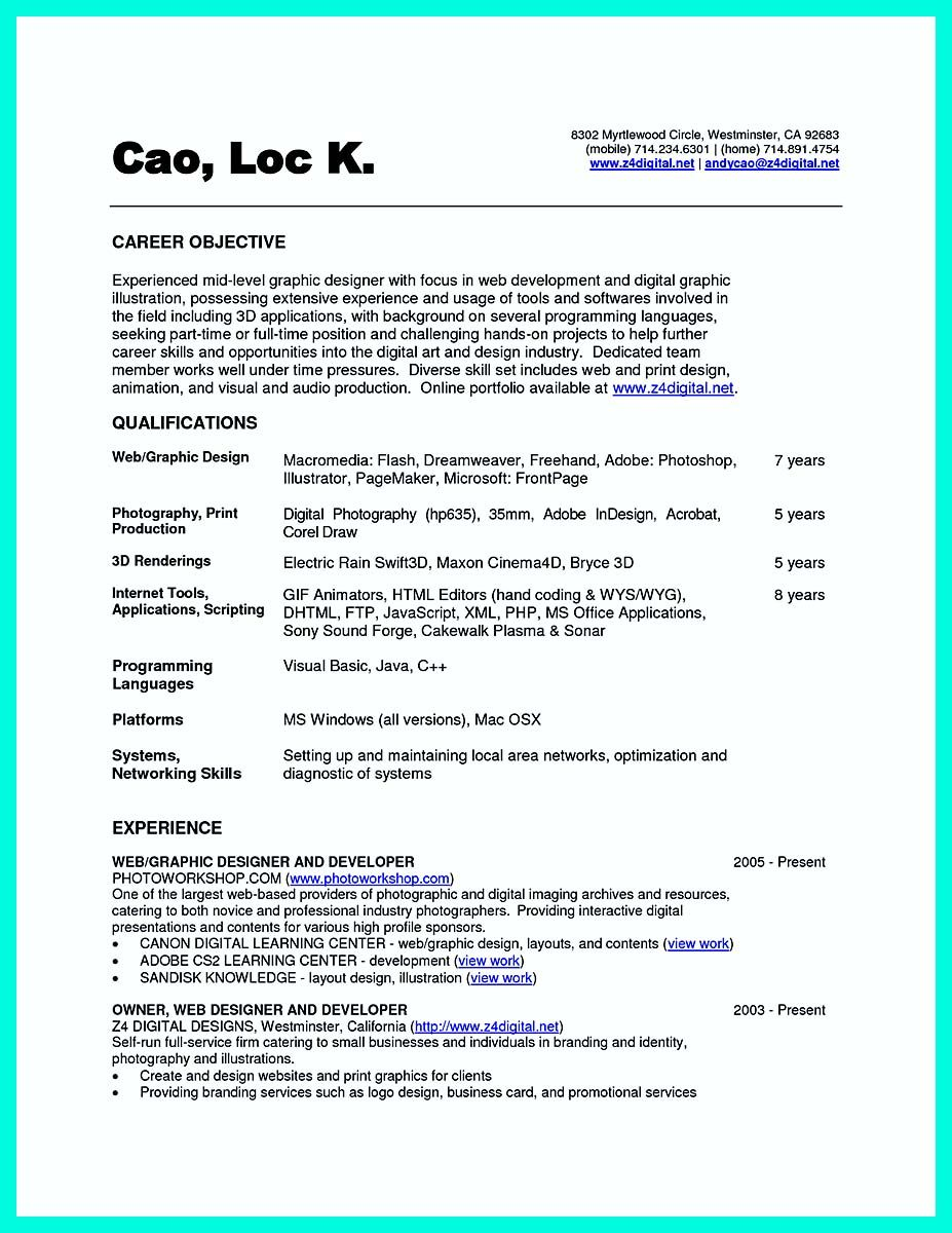 amazing area of interest in computer science in resume pictures