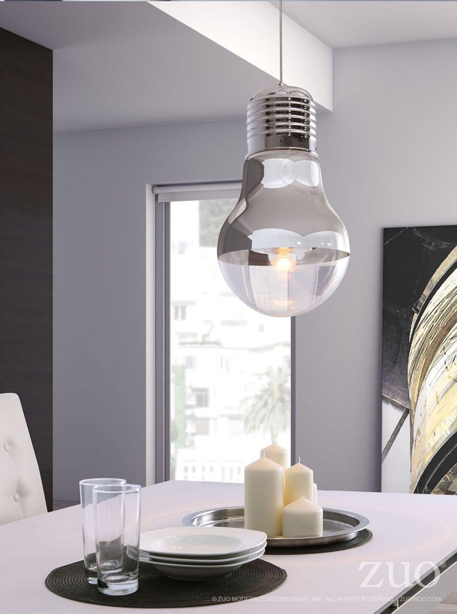 gilese ceiling lamp in chrome glass bulb shape jime wu ceiling rh pinterest com