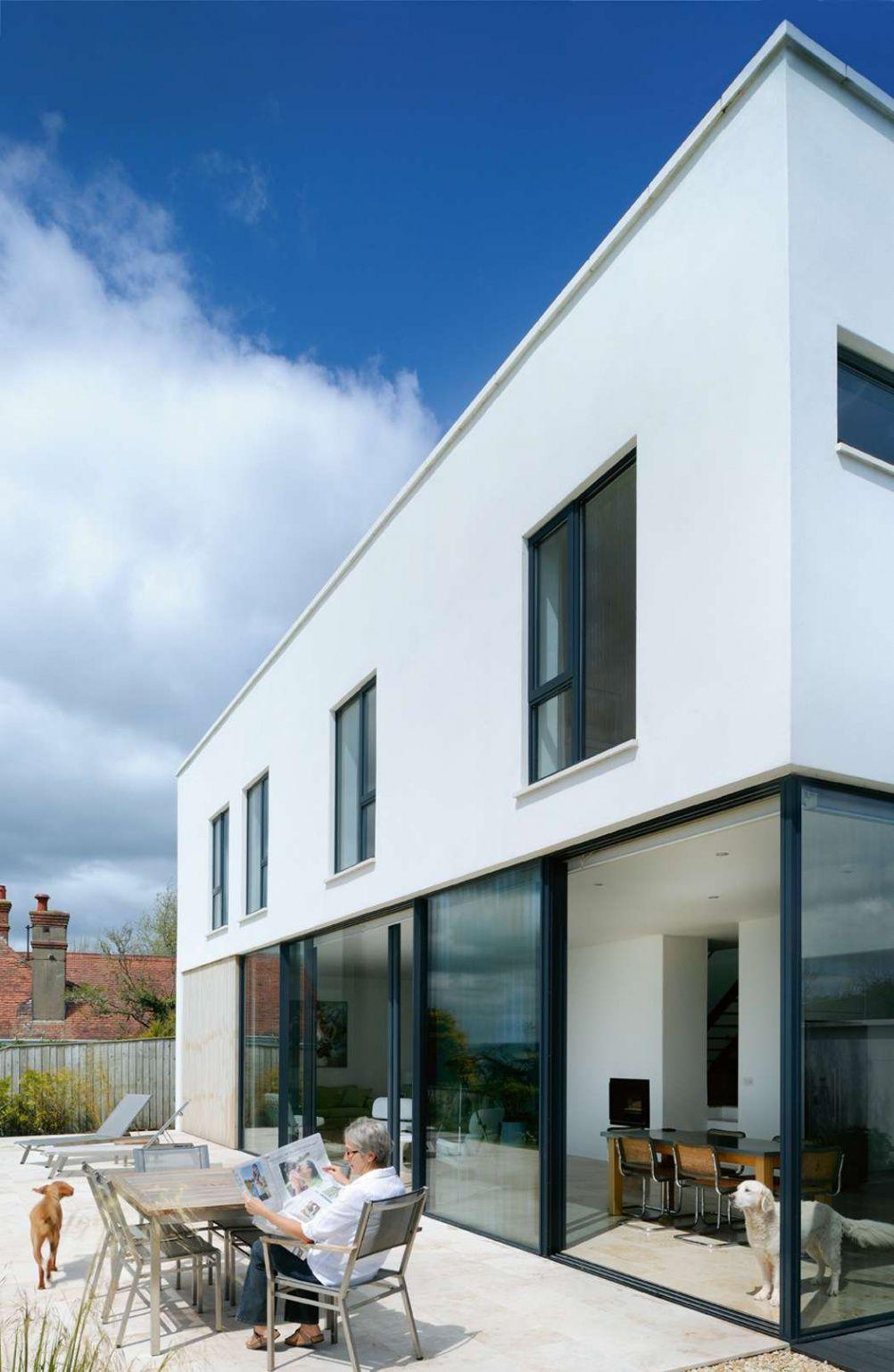 A contemporary minimalist home on the Devon