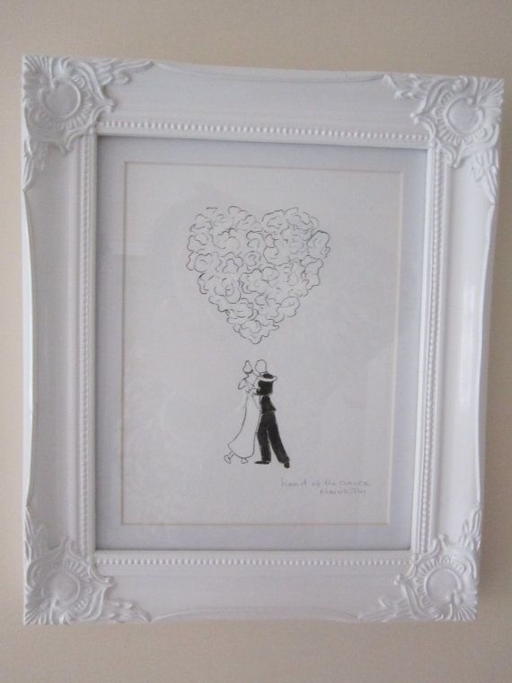 Heart of the Dance original painting framed by AngelAtMyEasel