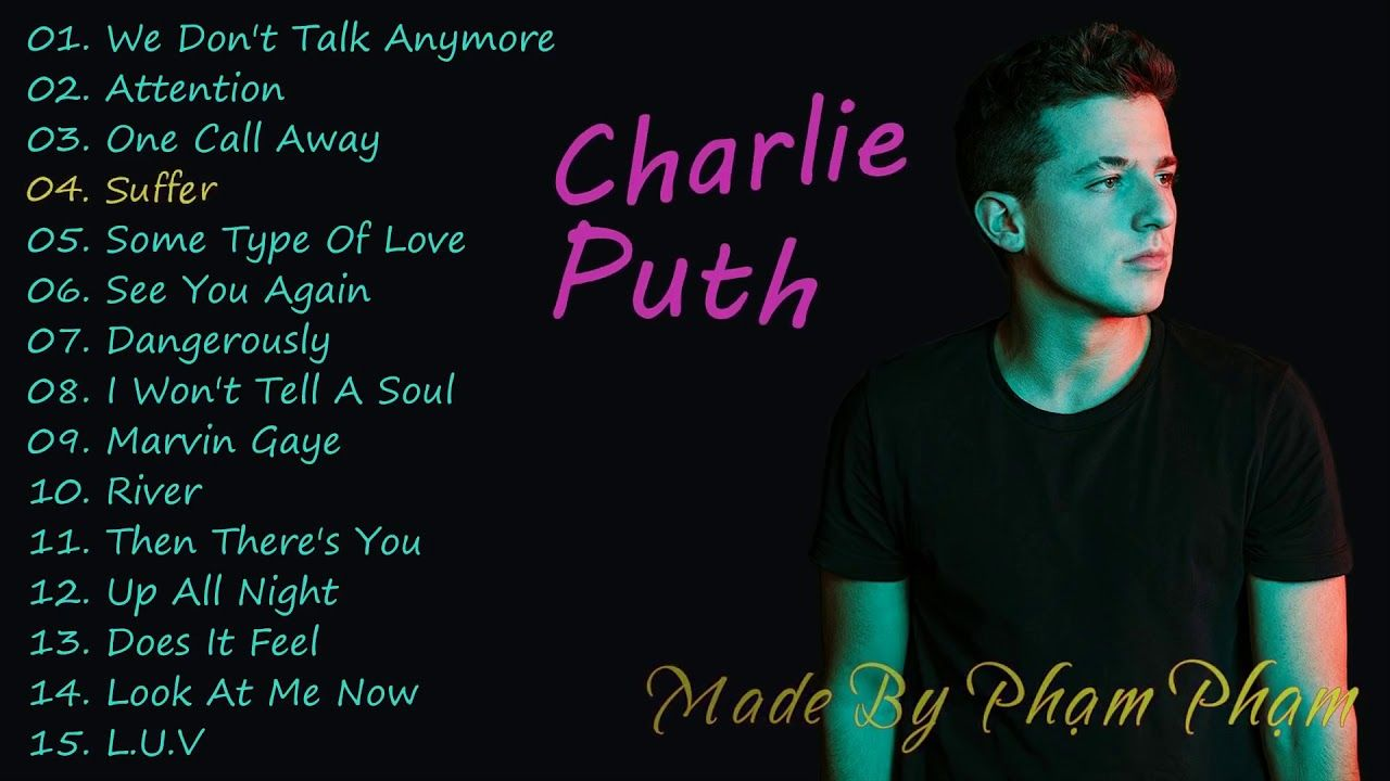 Charlie Puth Greats Hits 2018 Charlie Puth The Best Song 2018