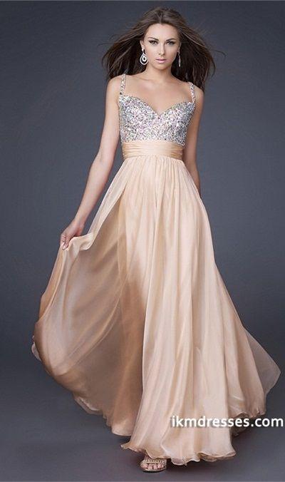 http://www.ikmdresses.com/Charming-A-Line-Straps-Floor-Length-Chiffon-Prom-Dresses-p83362 harming A Line Straps Floor Length Chiffon Prom Dresses
