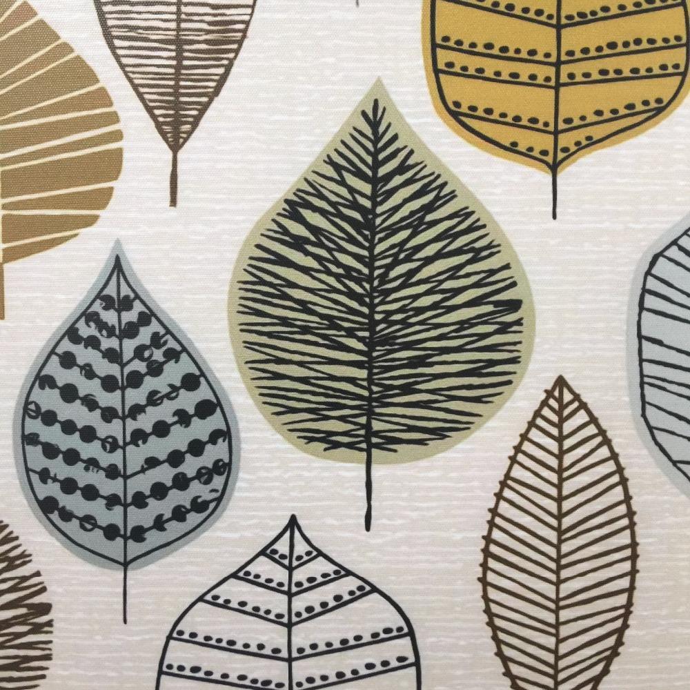 Scandinavian Geometric Leaf Wall Art Leaf Wall Art Geometric Art Prints Poster Wall Art