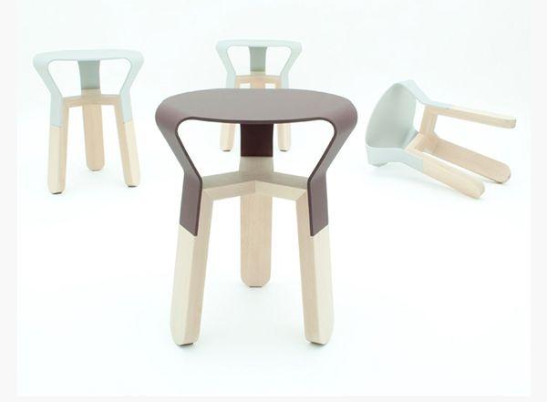 Awe Inspiring Beautiful And Creative Design Of The Avo Stool Cha Bralicious Painted Fabric Chair Ideas Braliciousco