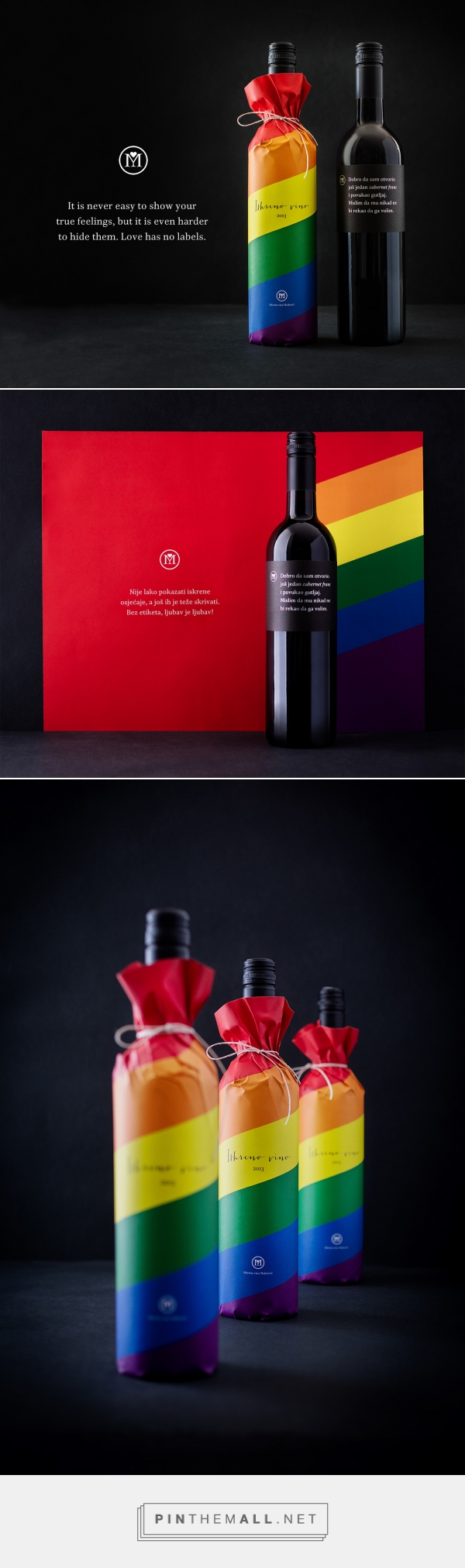 Honest Wines Pride Edition On Behance A Grouped Images Picture Packaging Labels Design Wine Packaging Packaging Design Inspiration
