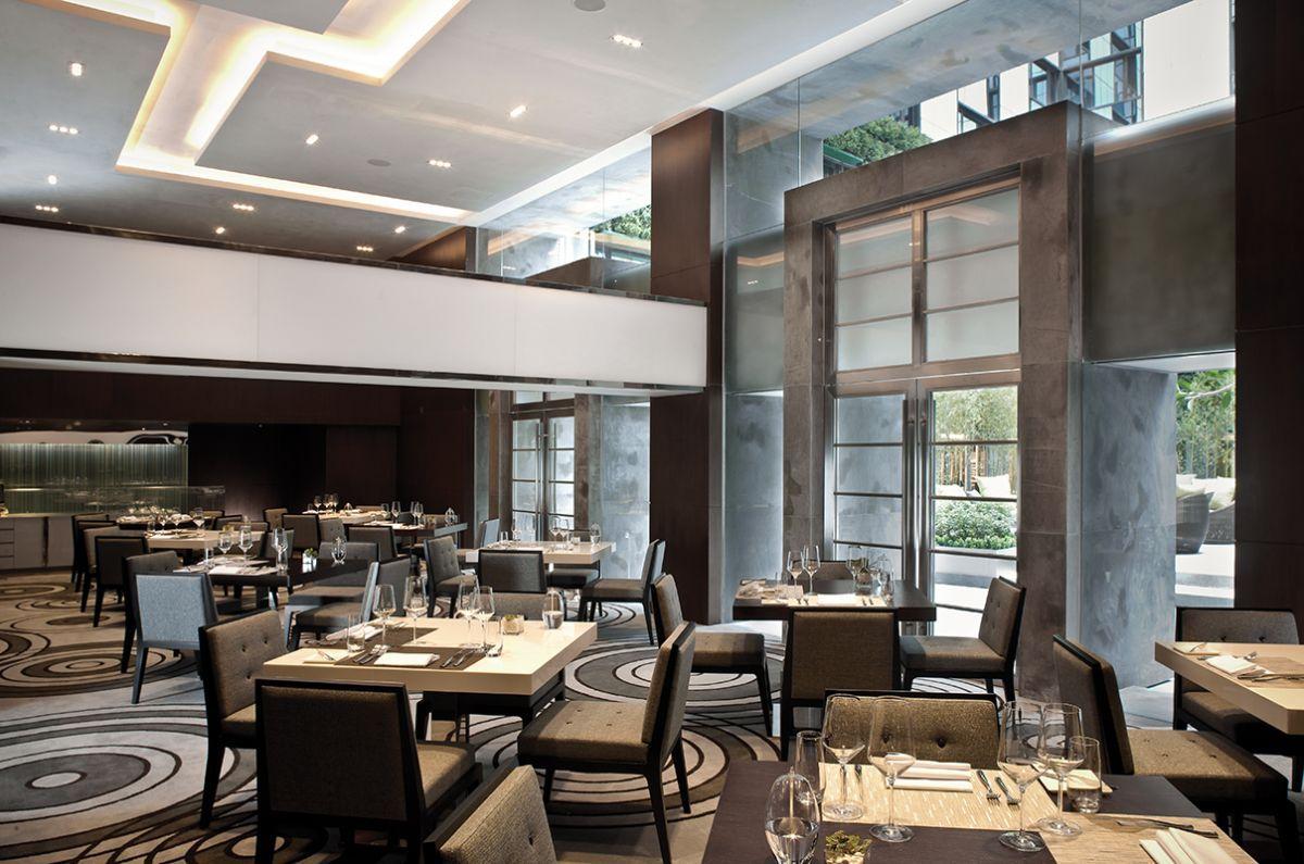 Small Soul Food Restaurant Interior Design Ideas