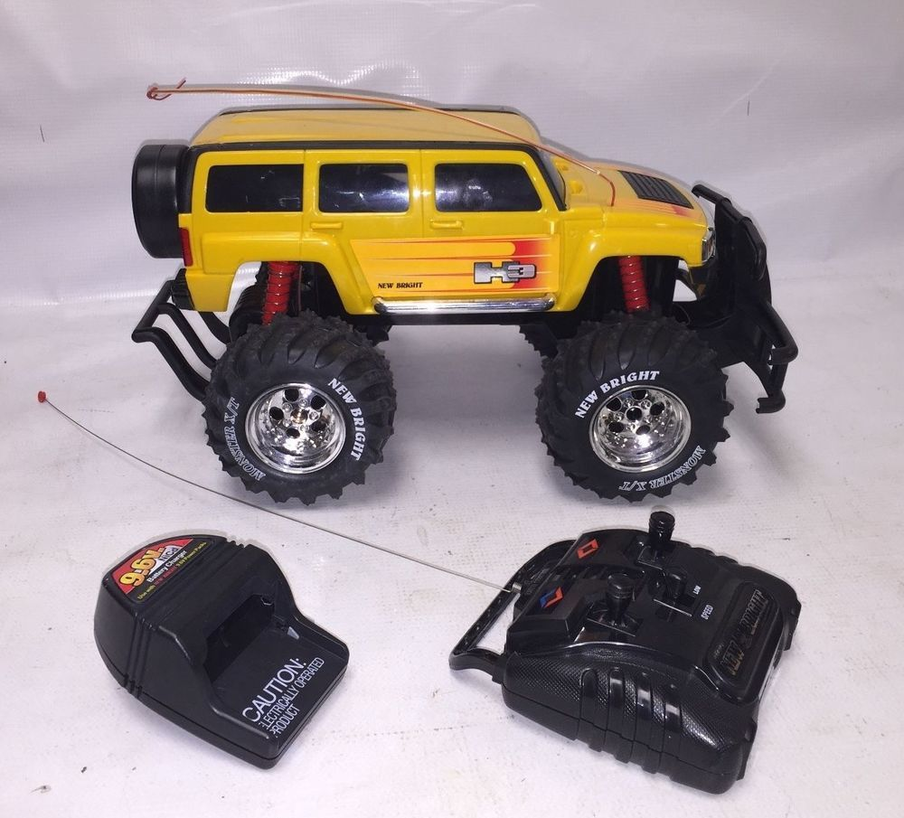Used New Bright Yellow Hummer H3 Remote Control Car Rc Car Working When Tested Nice Looking Truck For Your Rc Lover Remote Control Cars Rc Cars Hummer H3