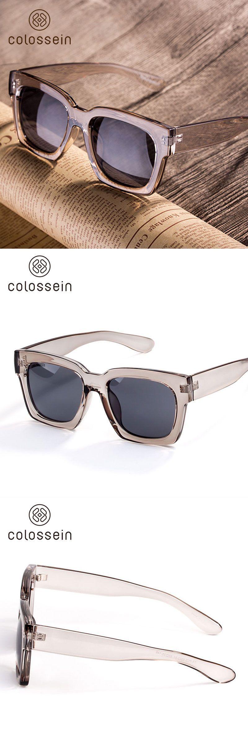 440b1679aa4012 Fashion Sunglasses Women Loves Oversized Square Frame Eyewear 2018 New  Trendy Summer Glasses New Trend for