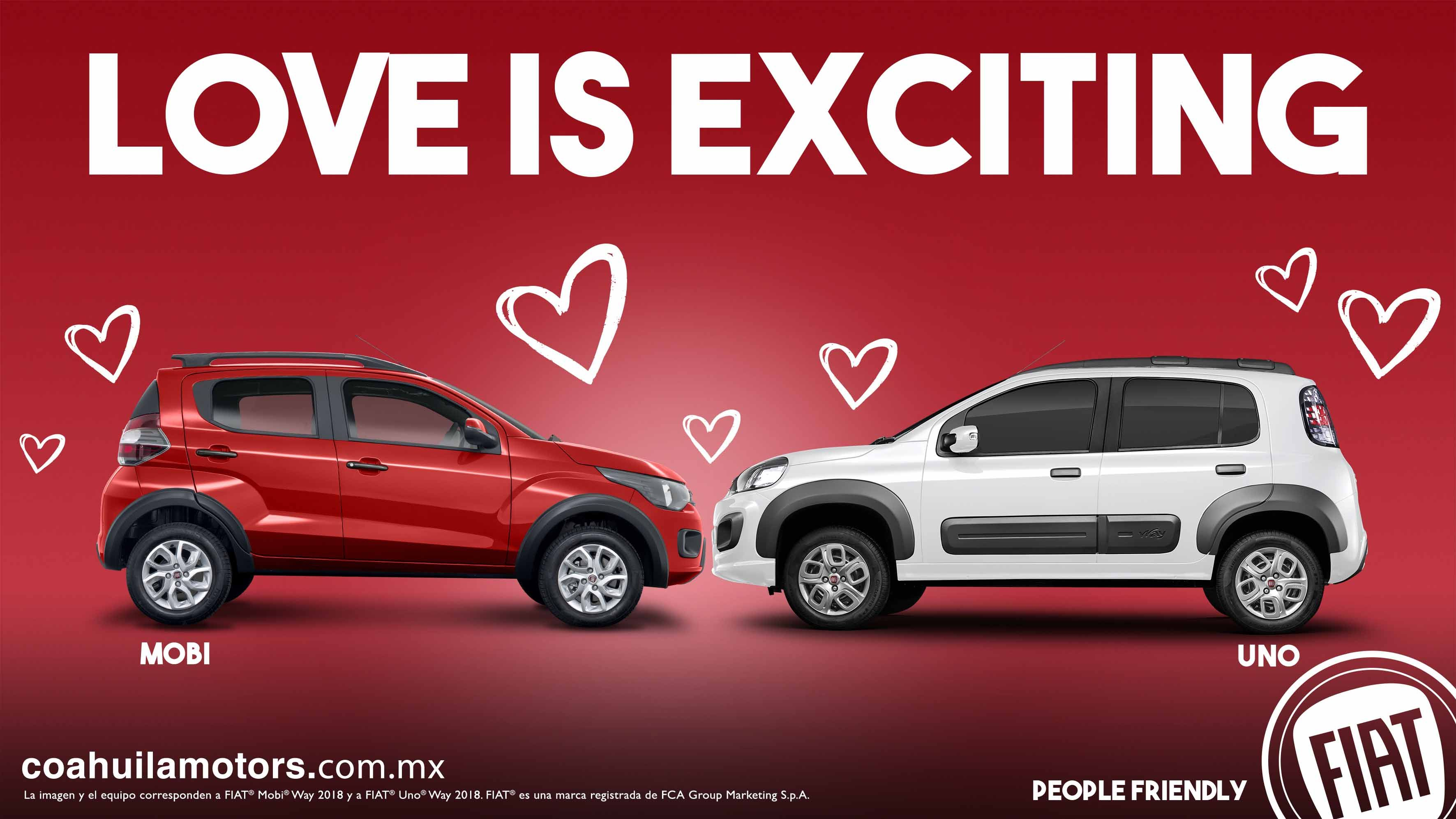 ¡Este mes Love is Exciting! Love