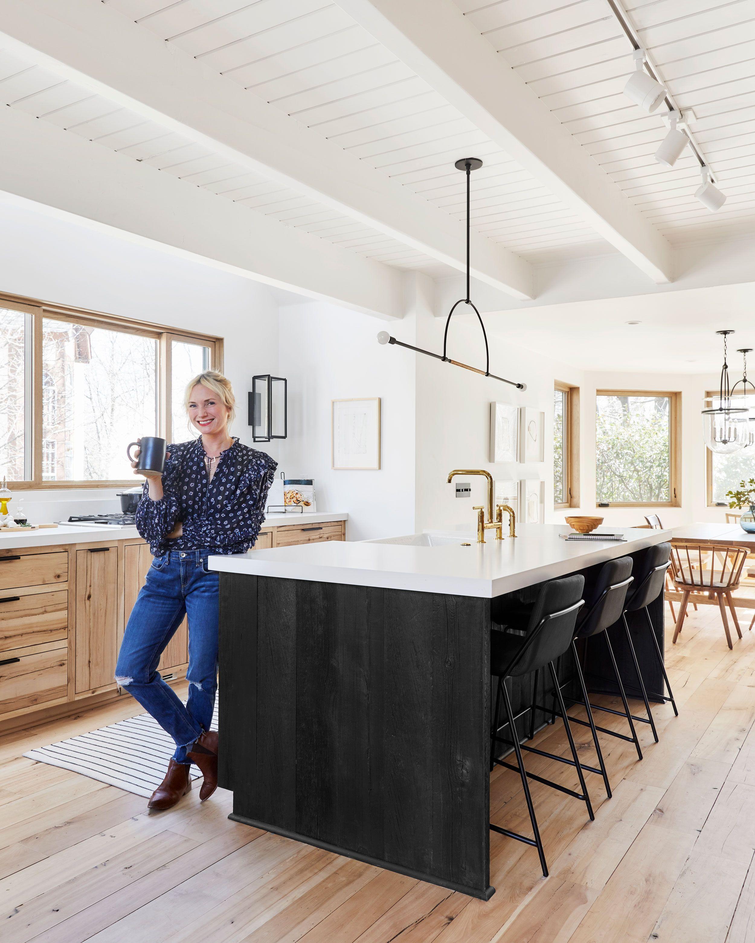 before after our scandinavian inspired mountain house kitchen rh pinterest com