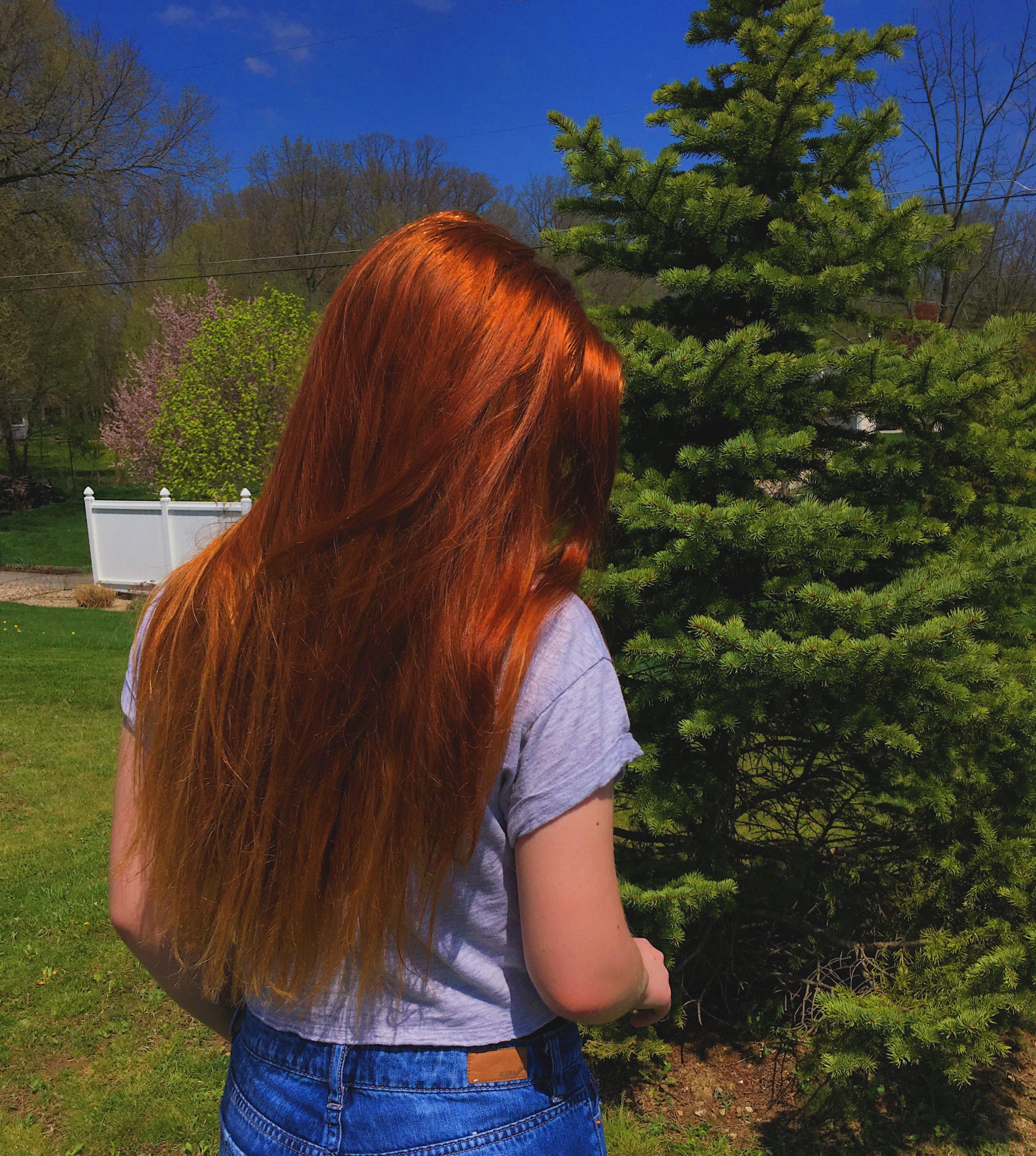 Hairgoals Ginger Redhead Longhair Nature Tumblr Nature Long Hair Styles Ginger Hair Tumblr Hair