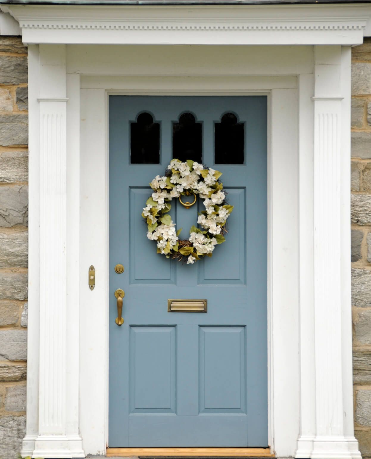 21 Cool Blue Front Doors for Residential Homes & 21 Cool Blue Front Doors for Residential Homes | Colored front ...