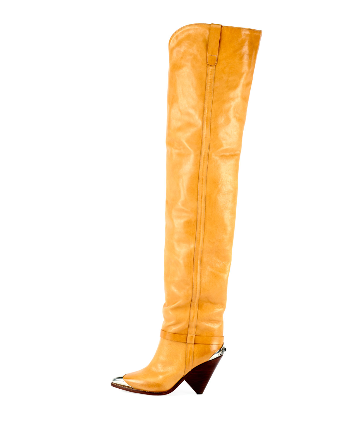 6db360387e5 Isabel Marant Lafsten Over-The-Knee Western Boot
