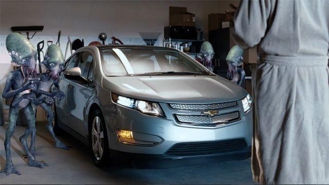Gm Previews Its Volt Superbowl Pregame Commercial Chevy Volt Car Alternative Fuel